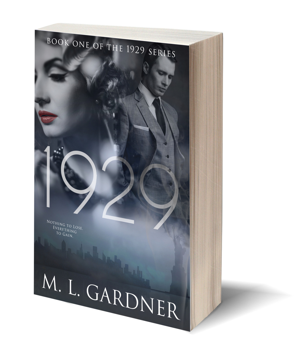 3-D Paperback Cover for M.L. Gardner's 1929 || Designed by TheThatchery.com