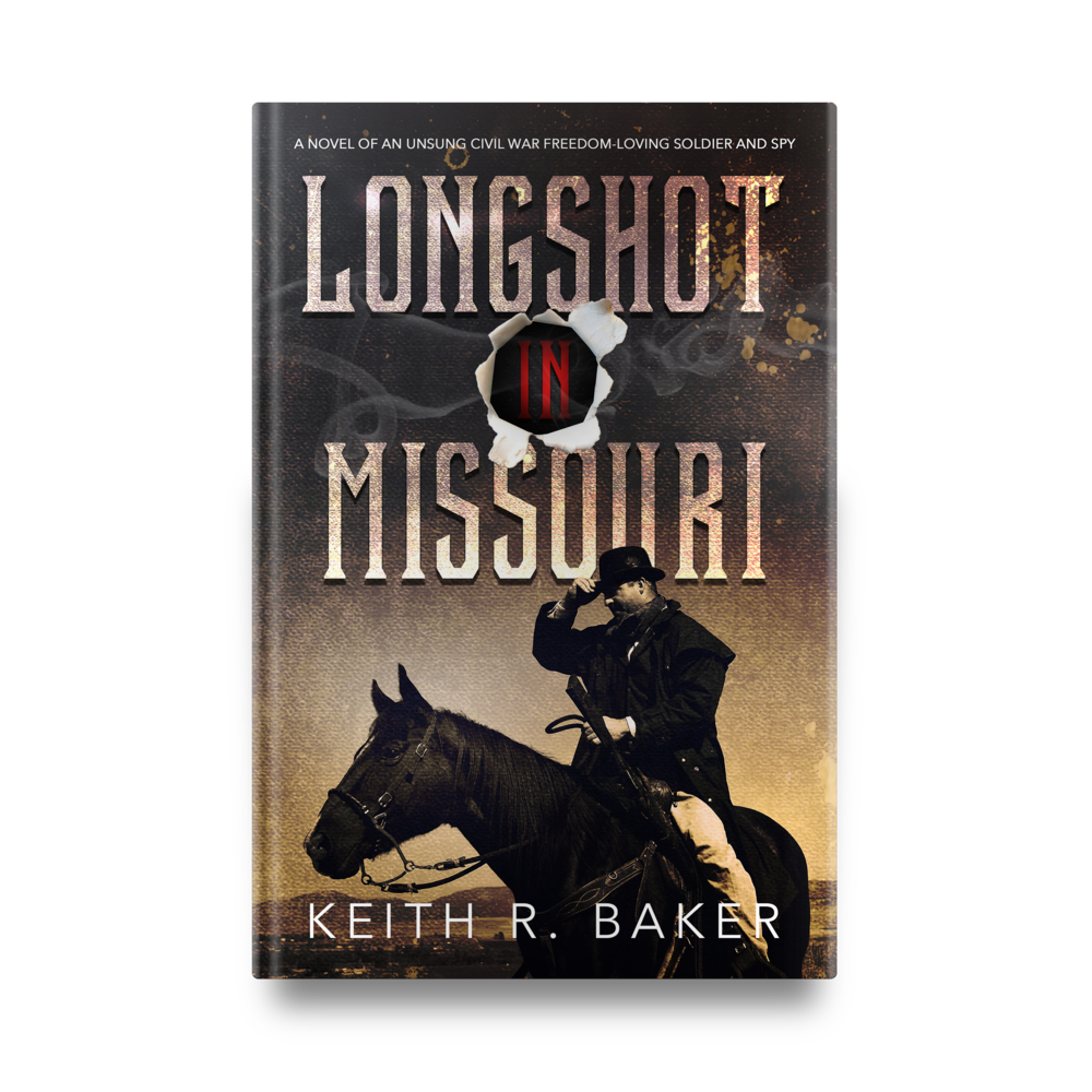 Keith R Baker's Longshot in Missouri || Designed by TheThatchery.com