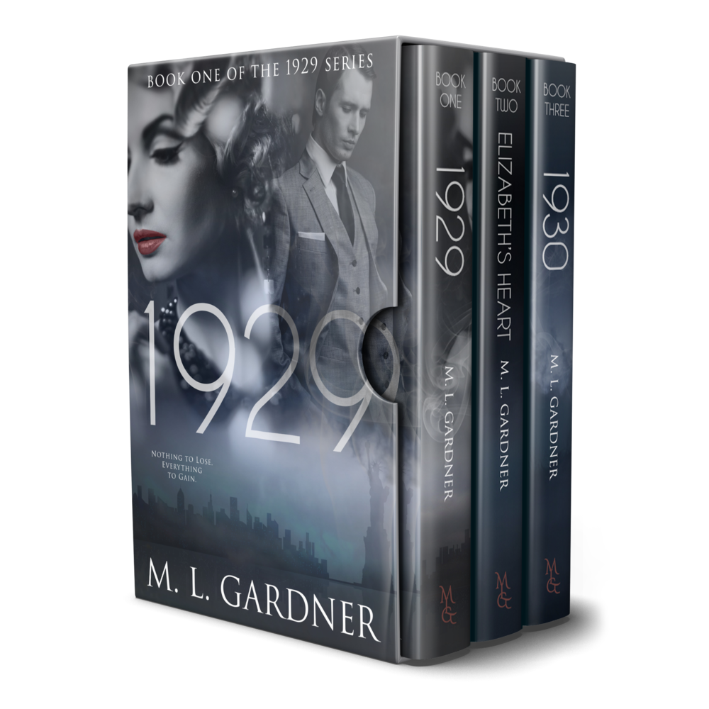 M. L. Gardner's 1929 Series Boxed Set: Books 1-3 || Designed by TheThatchery.com