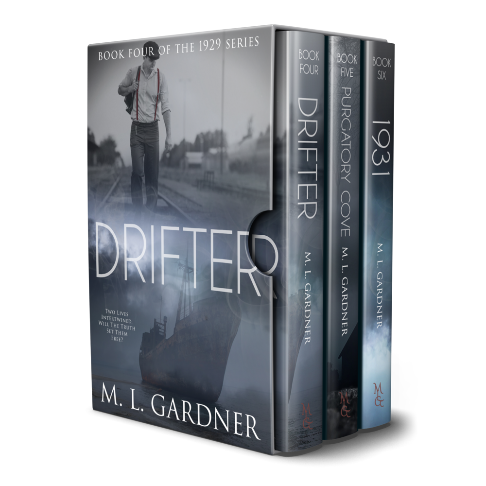 M. L. Gardner's 1929 Series Boxed Set: Books 4 - 6    Designed by TheThatchery.com