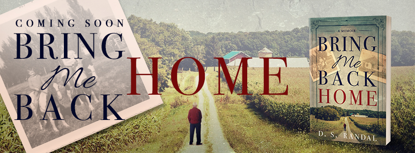 D. S. Randal's Bring Me Back Home Facebook Banner || Designed by TheThatchery.com