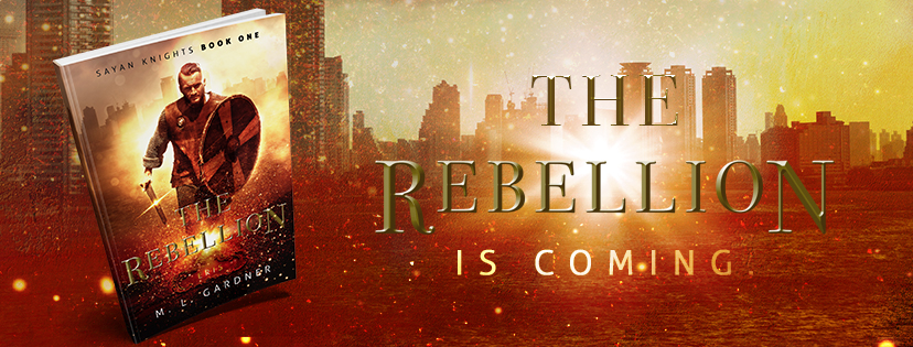 M. L. Gardner The Rebellion Facebook Banner || Designed by TheThatchery.com
