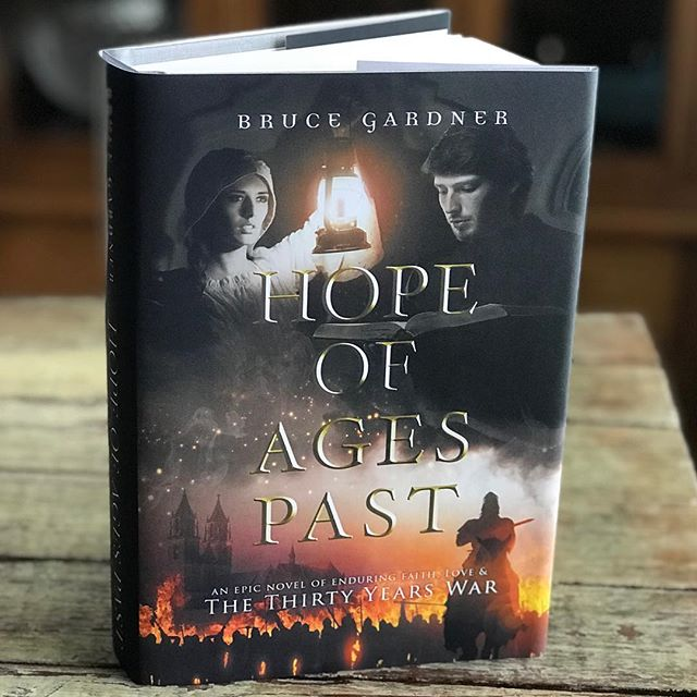 Look what came in the mail? A big thanks to Bruce Gardner for the autographed hardback copy of his book Hope of Ages Past! I cannot wait to dig in—this has been on my MUST READ list for quite some time. 😍 *Cover Designed by #TheThatchery . . . #coverartist #writersofinstagram #bibliophile #bookcoverdesign #shelfie #authorsofinstagram #goodreads #bookish