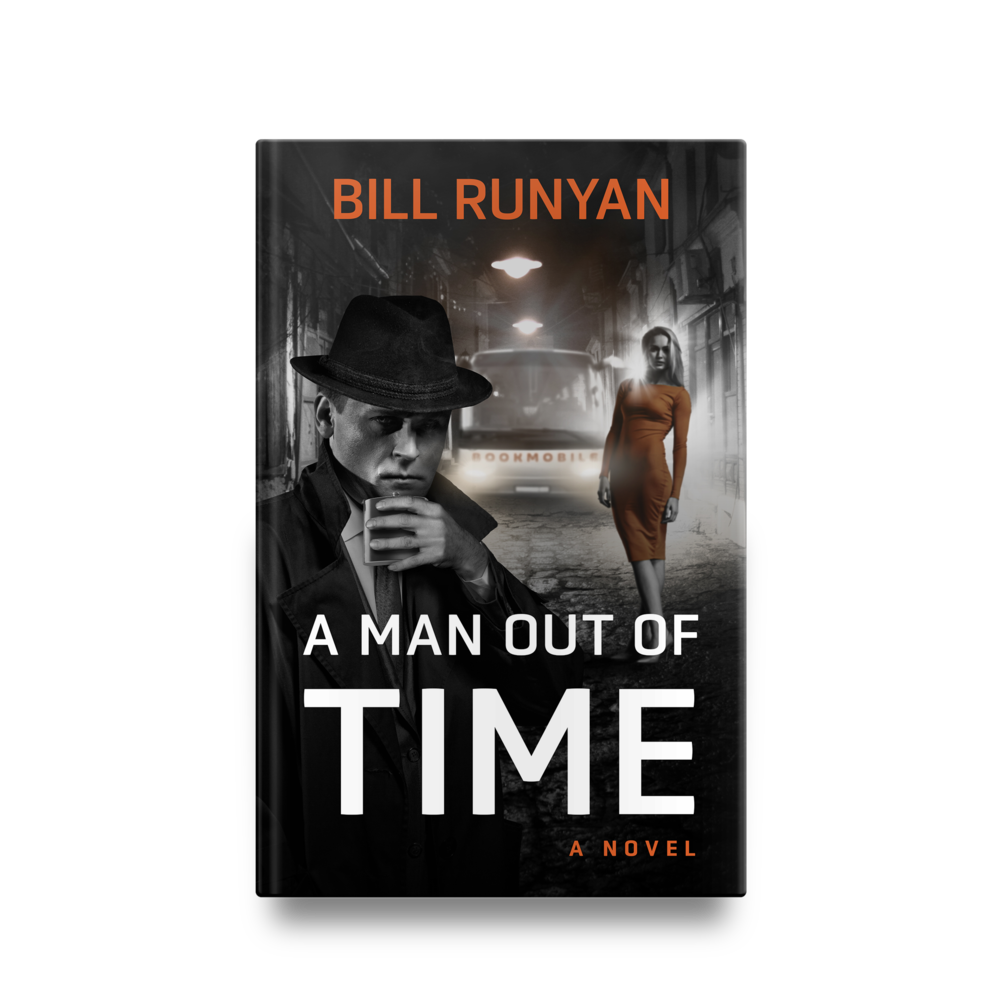 Bill Runyan's A Man Out of Time || Designed by TheThatchery.com