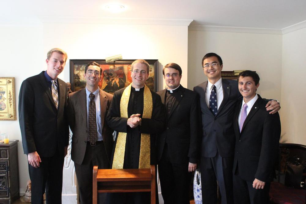 Six generations of GW CatholicsGrand Knights