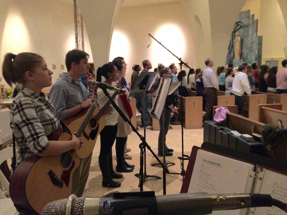 Worship Music at Student Mass