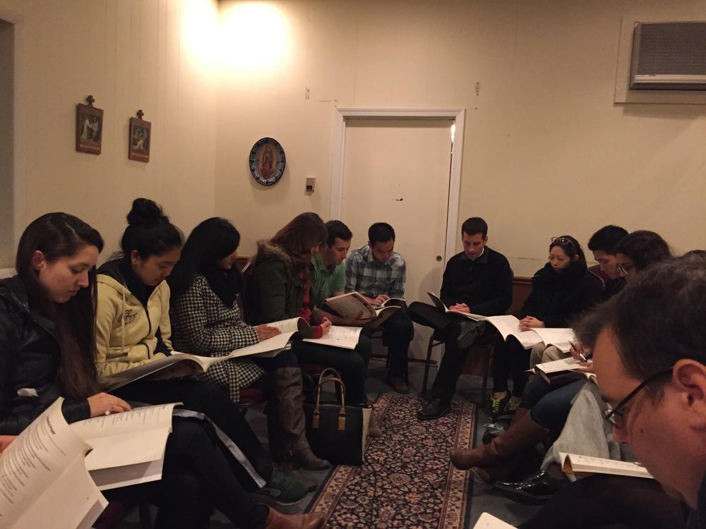 Grad Student Bible Study