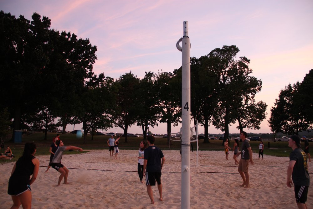Volleyball at the National Mall