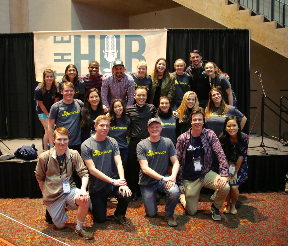 Group of Students at Seek 2017