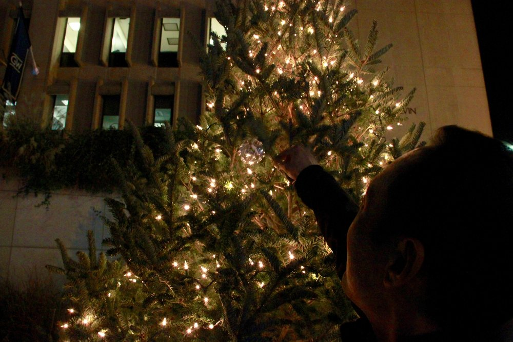 Christmas Tree Lighting in Kogan Plaza