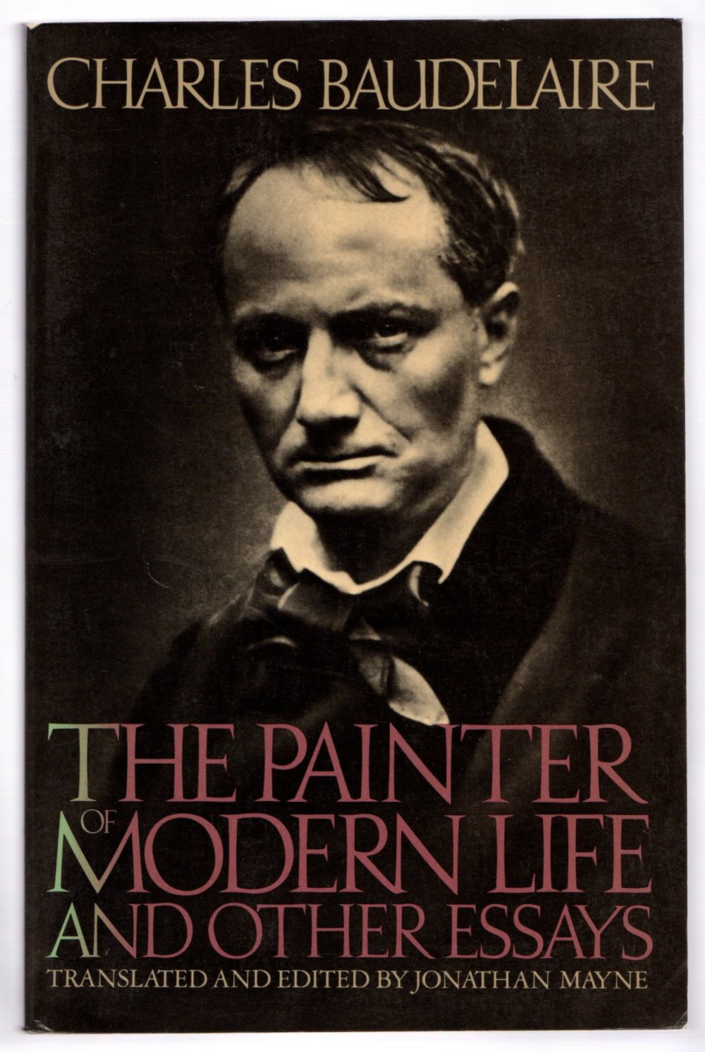 the painter of modern life and other essays 1964 The painter of modern life digitised chapter - see attached seminar reading add to my bookmarks export citation type chapter is part of book title the painter of modern life and other essays author(s) charles.