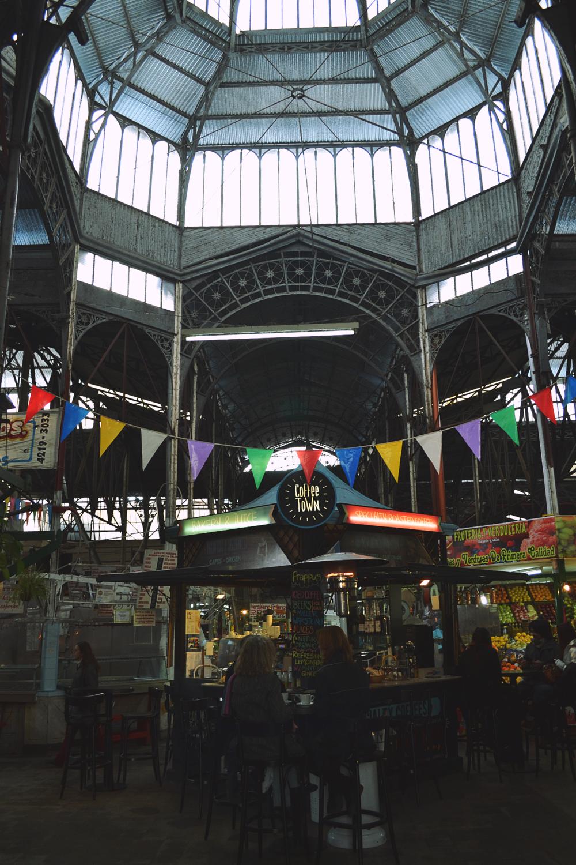 Antiguo mercado de San Telmo.