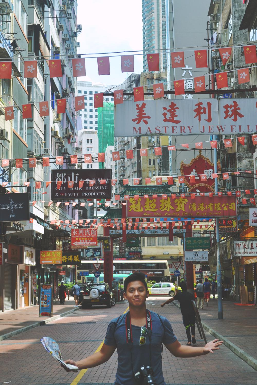 Zona de Mong Kok.
