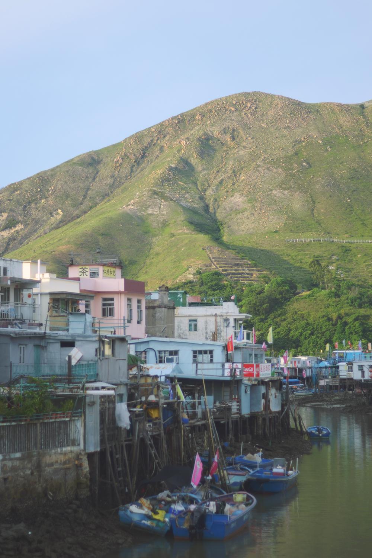 El pueblo pesquero de Tai O.