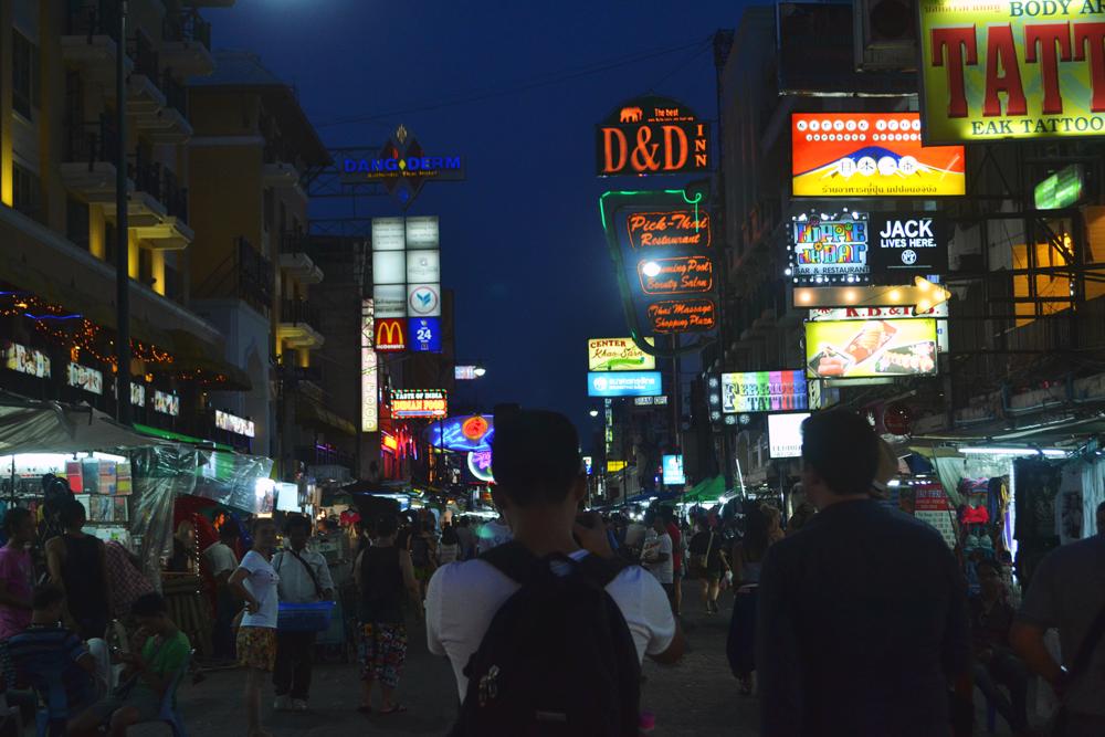 Khao San Road.