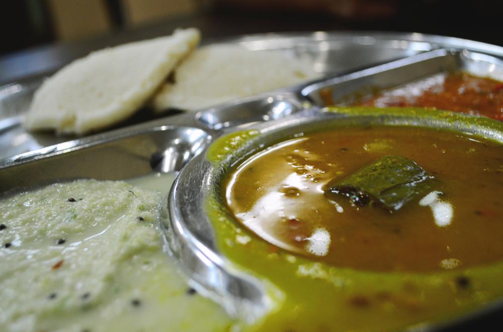 Desayunos en Little India.