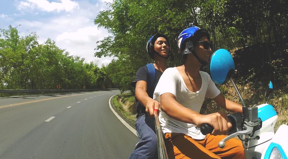 Andando por Chiang Mai.