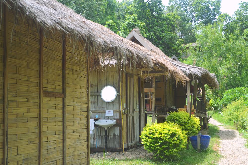Alojamiento en el Elephant Conservation Center.