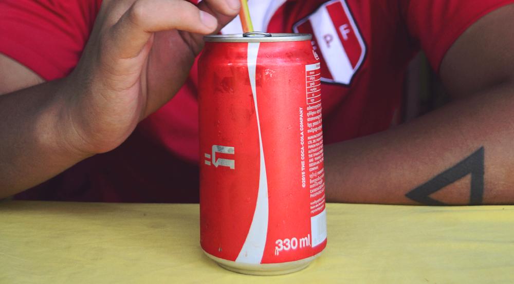 Coca Cola camboyana.