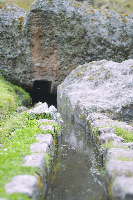 Acueducto incaico.