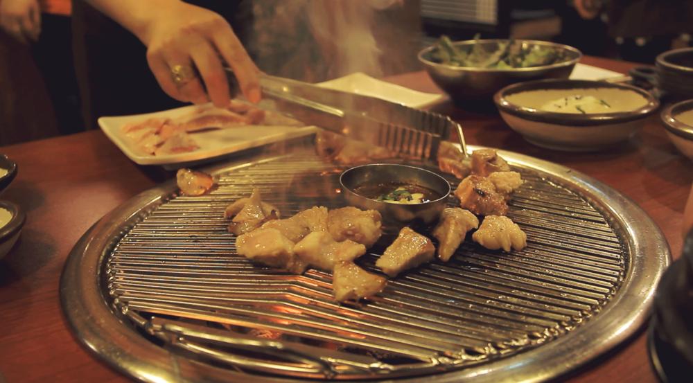 Korean BBQ: KRW 30'000.