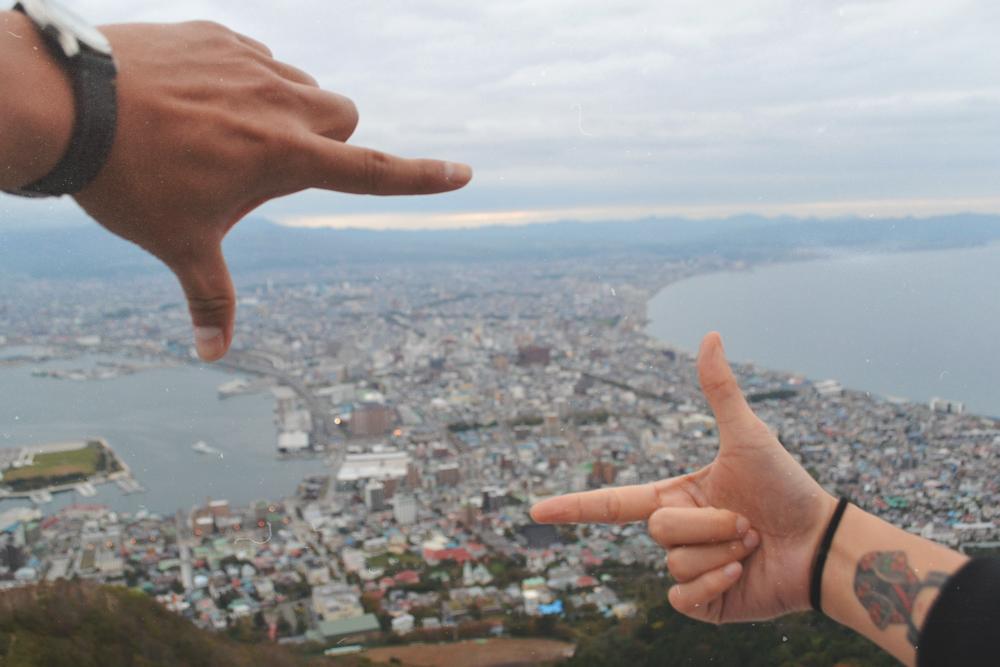 Vistas desde HakodateYama.