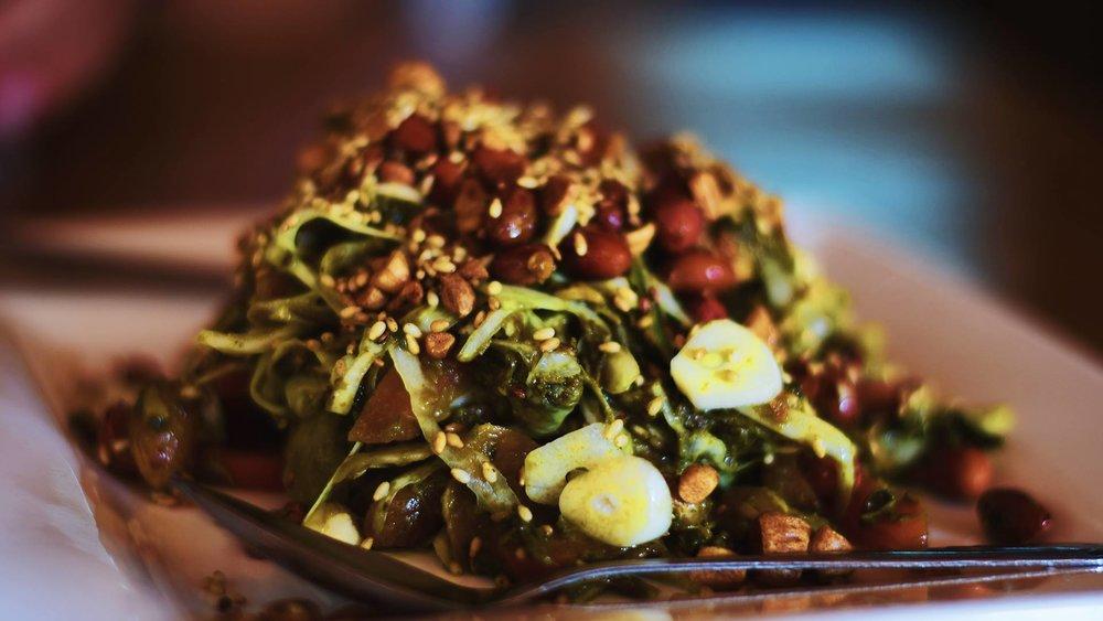 Tea Leaf Salad.