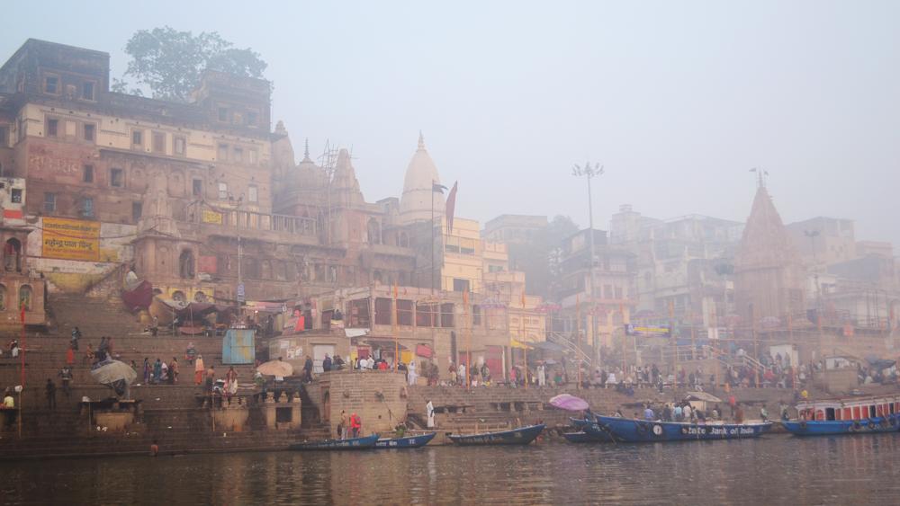 Varanasi, punto de partida hacia Agra.