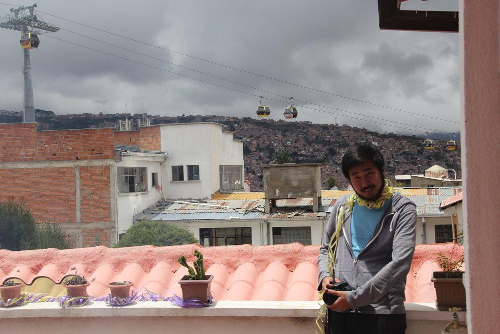 El primo en Pirwa Hostel - La Paz.