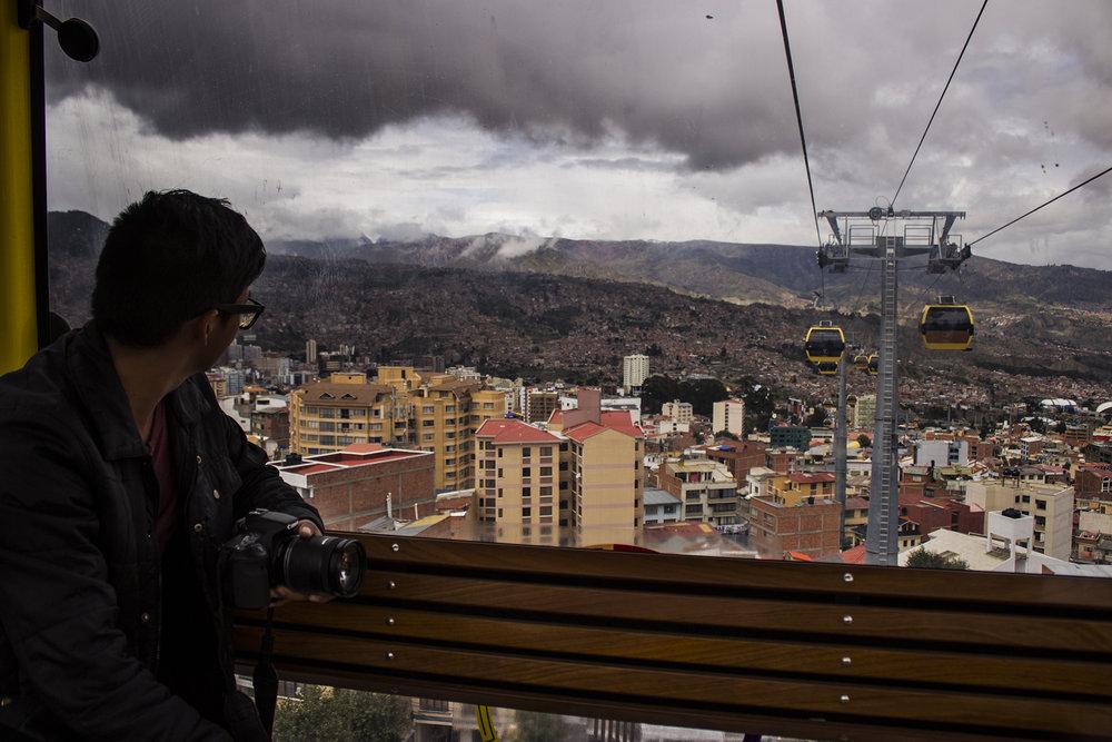 Línea Amarilla del Teleférico de La Paz.