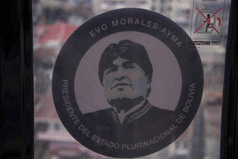 La imagen del presidente EVOrywhere.
