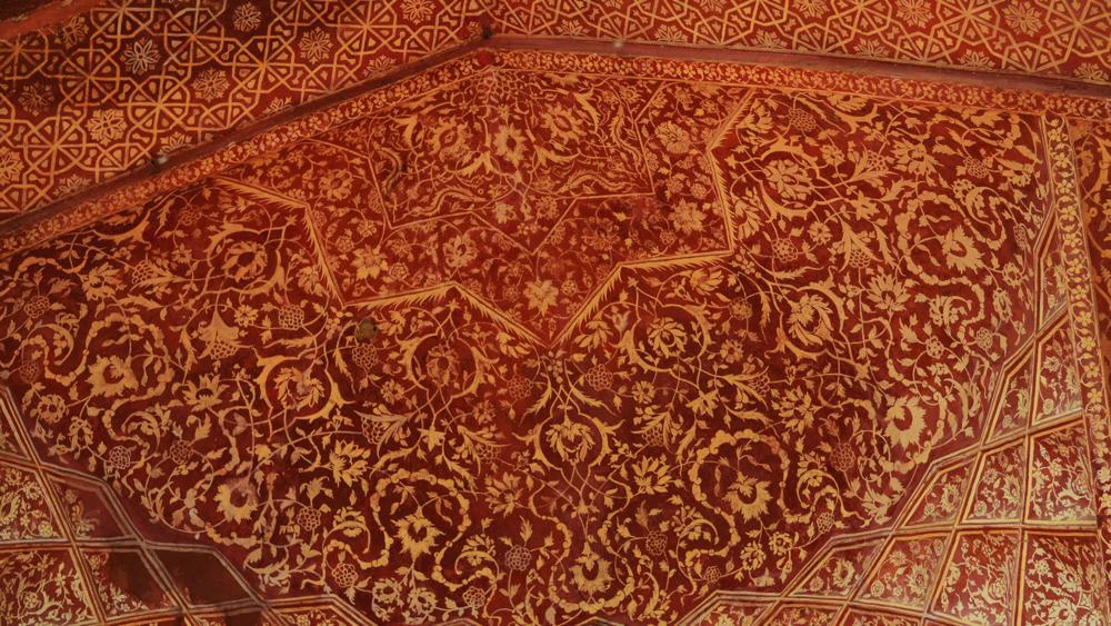 Los techos de los templos.