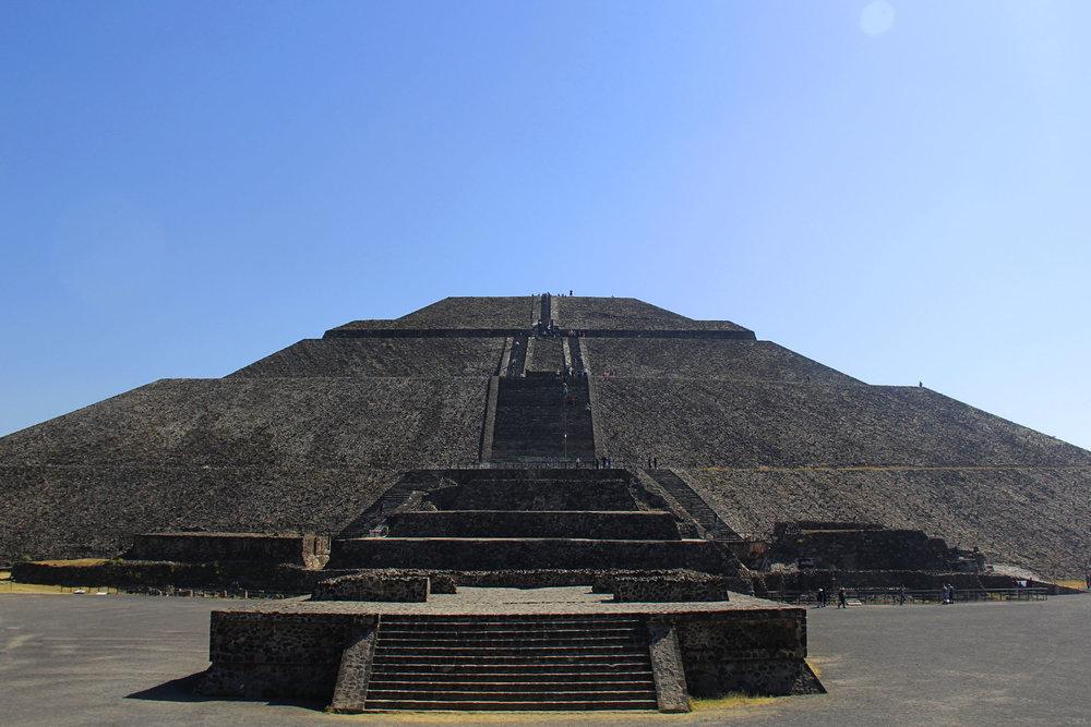 Pirámide del Sol.