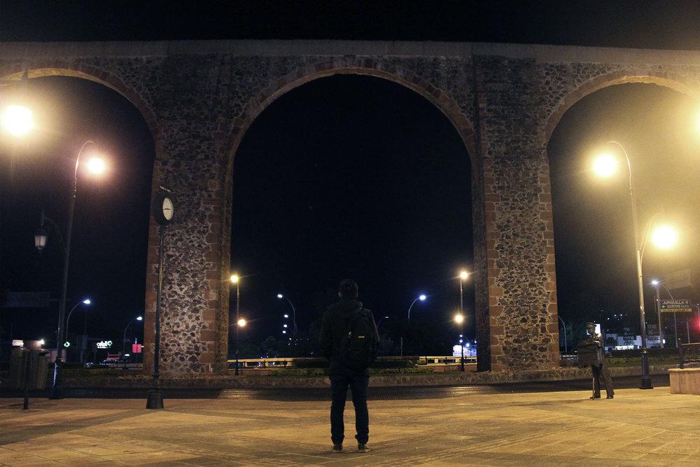 Los arcos de Querétaro.