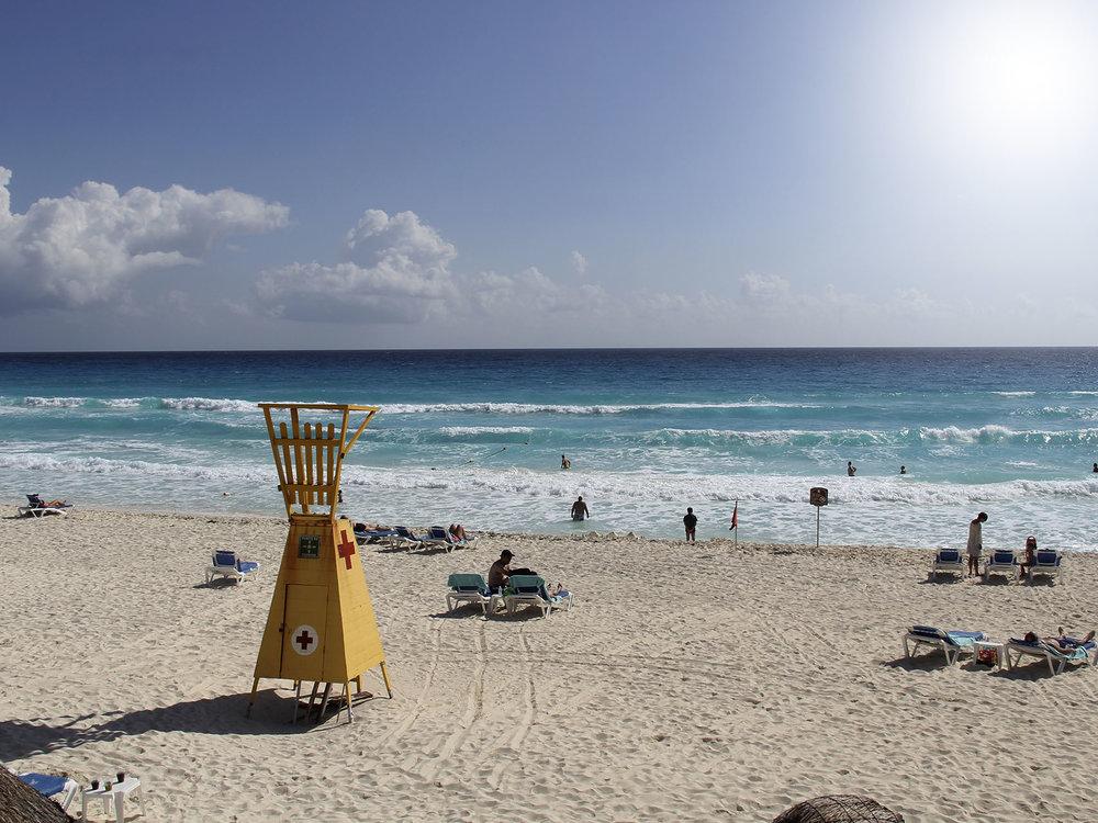 Playas de Cancún.