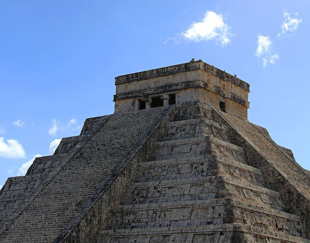 Pirámide de Kukulkán.