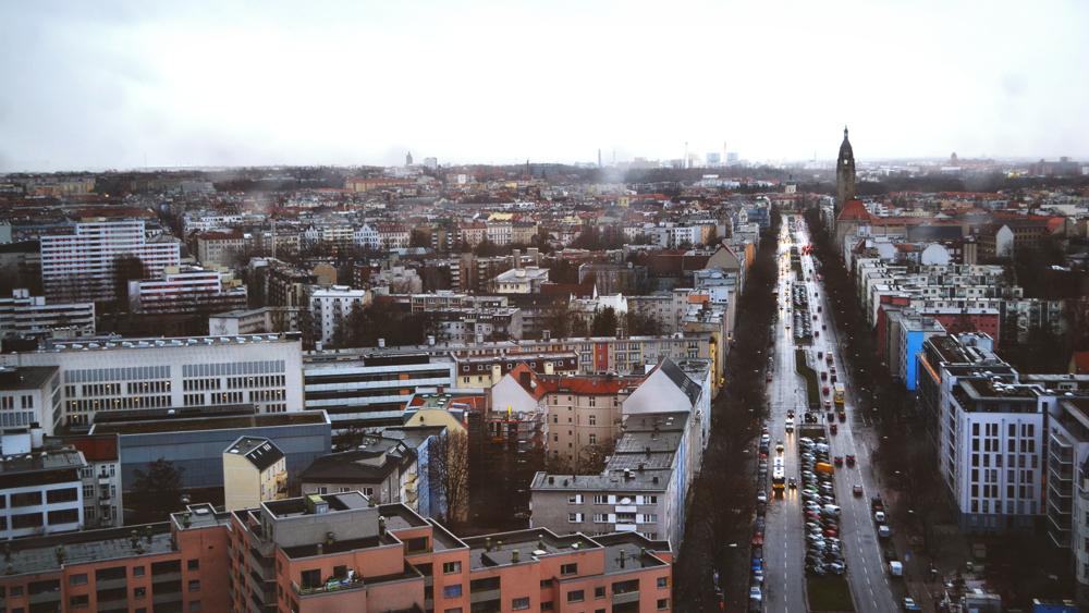 Vistas desde Technical University of Berlin.