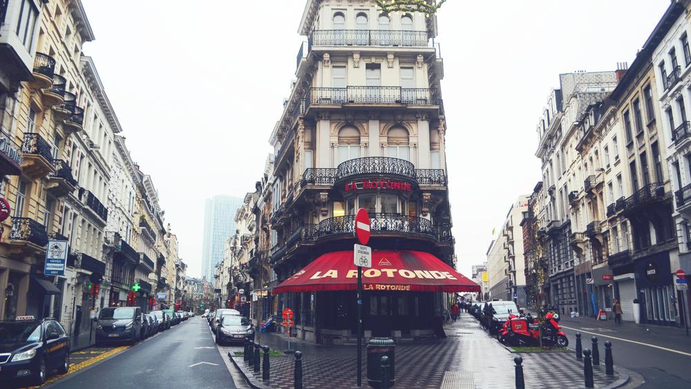 Calles de Bruselas.