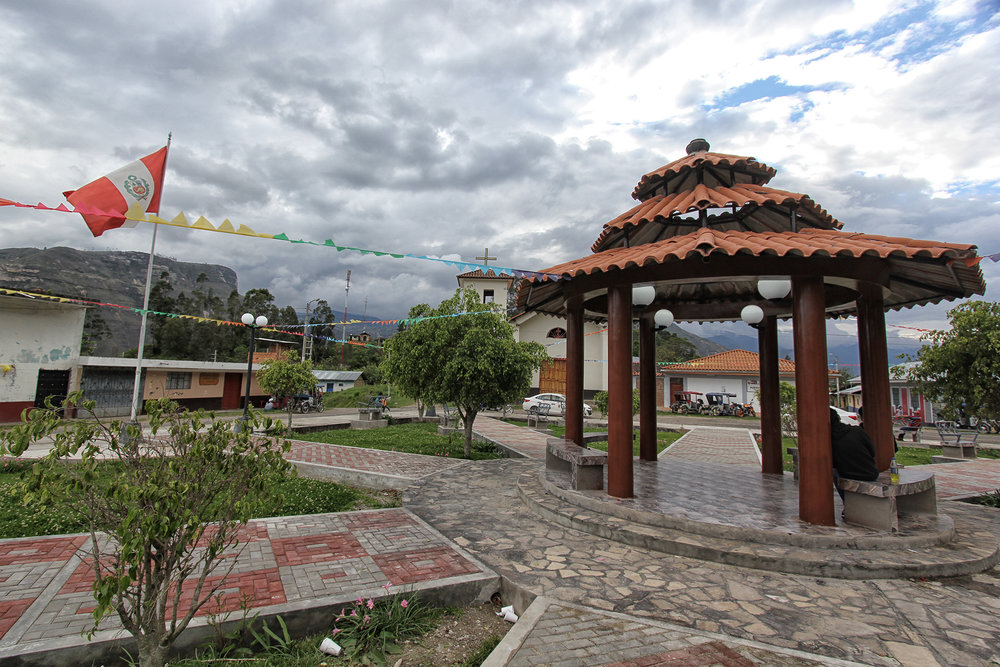 La Plaza Central de San Pablo de Valera.