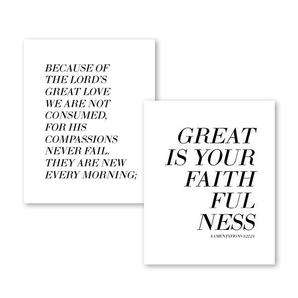 Lamentations Downloadable Print