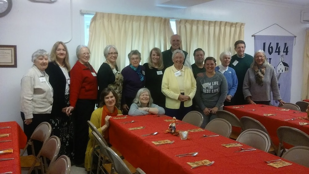 We had a great crew serve 40 guests from tewksbury hospital. what a gift to share a meal together!
