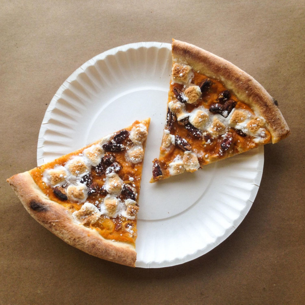 Sweet Potato Mash-Up November 2014 Pizza of the Month