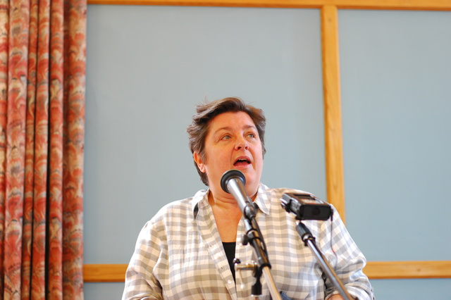 Julie Bindel at Sheffield No-Platforming Event, 6/6/15