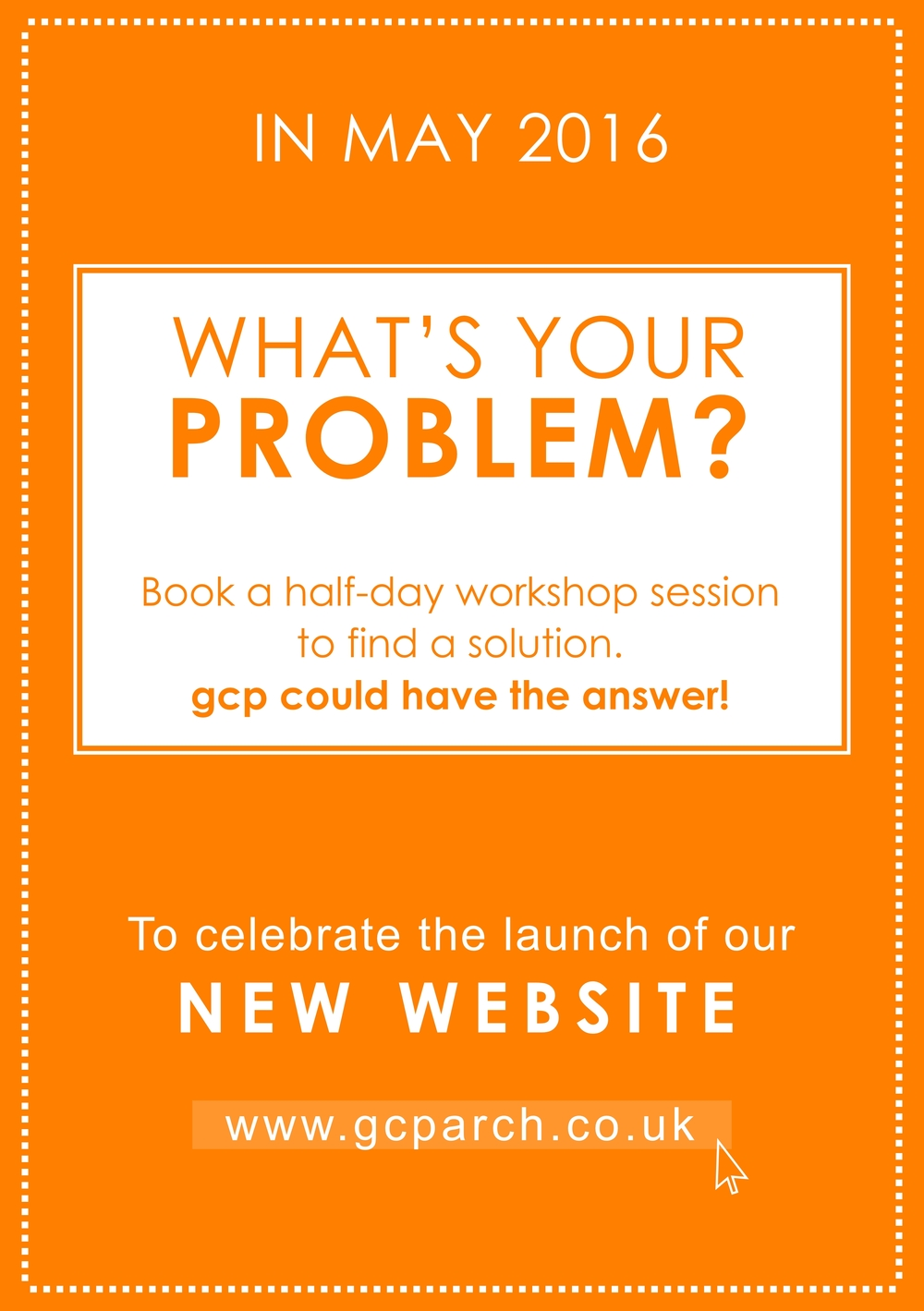 gcp new website launch