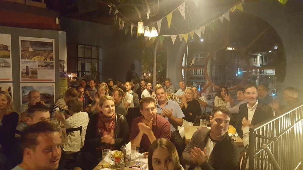 Guests at  gcp  30th Anniversary Charity Quiz