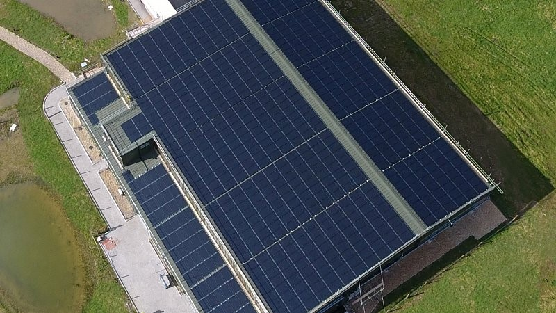 BV Dairy solar roof
