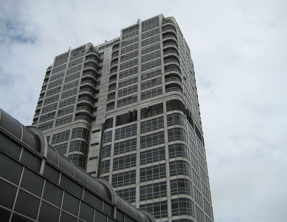 David Murray John tower block above the Brunel Centre