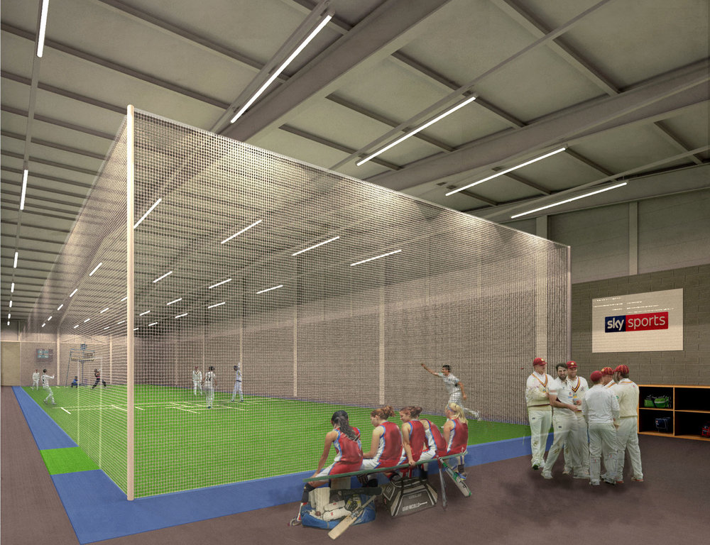 ECB Urban Cricket Centre Concept