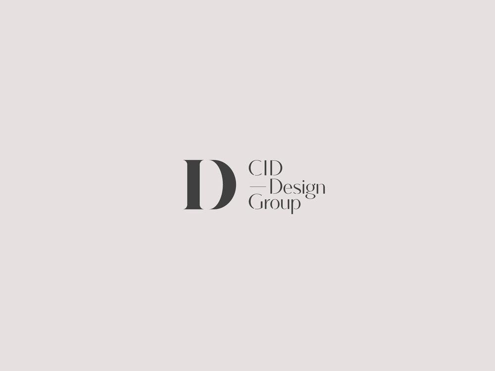 Brand Identity, Business Cards And Website Developed For An Interior Design  Group. The Combination Of Initial Letters From U0027Interioru0027 And U0027Designu0027  Create A ...