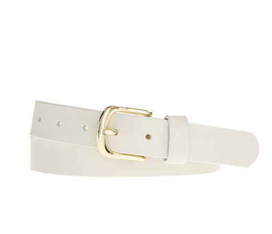 CLASSIC LEATHER BELT J Crew